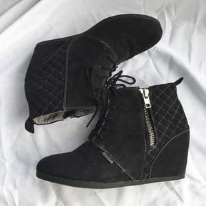 Bongo Black Ankle Boot